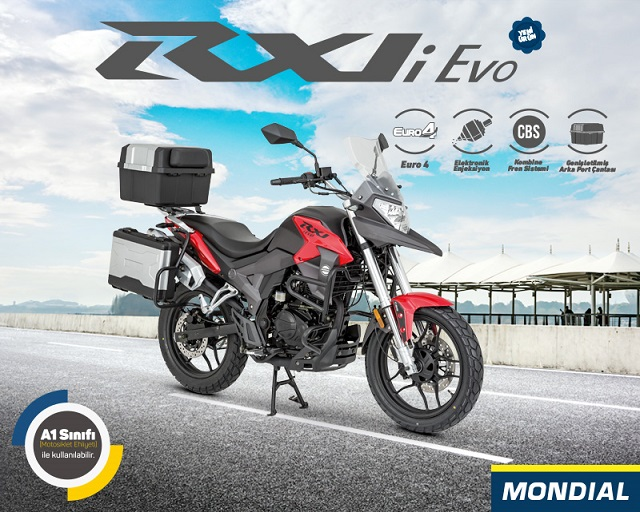 Yeni Rx1i Evo ile Yolun İzini Sür!
