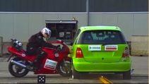 Motosiklet Kaza Testi